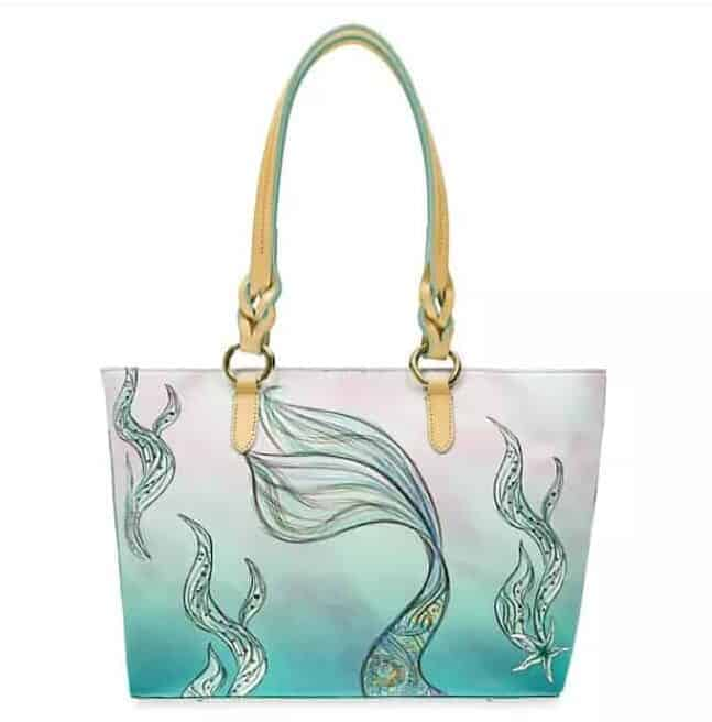 The Little Mermaid Ariel Tote (back)