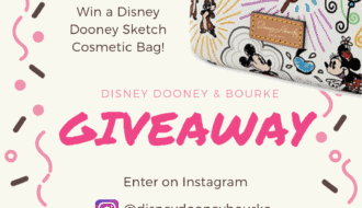 Win a Disney Dooney & Bourke Cosmetic Bag
