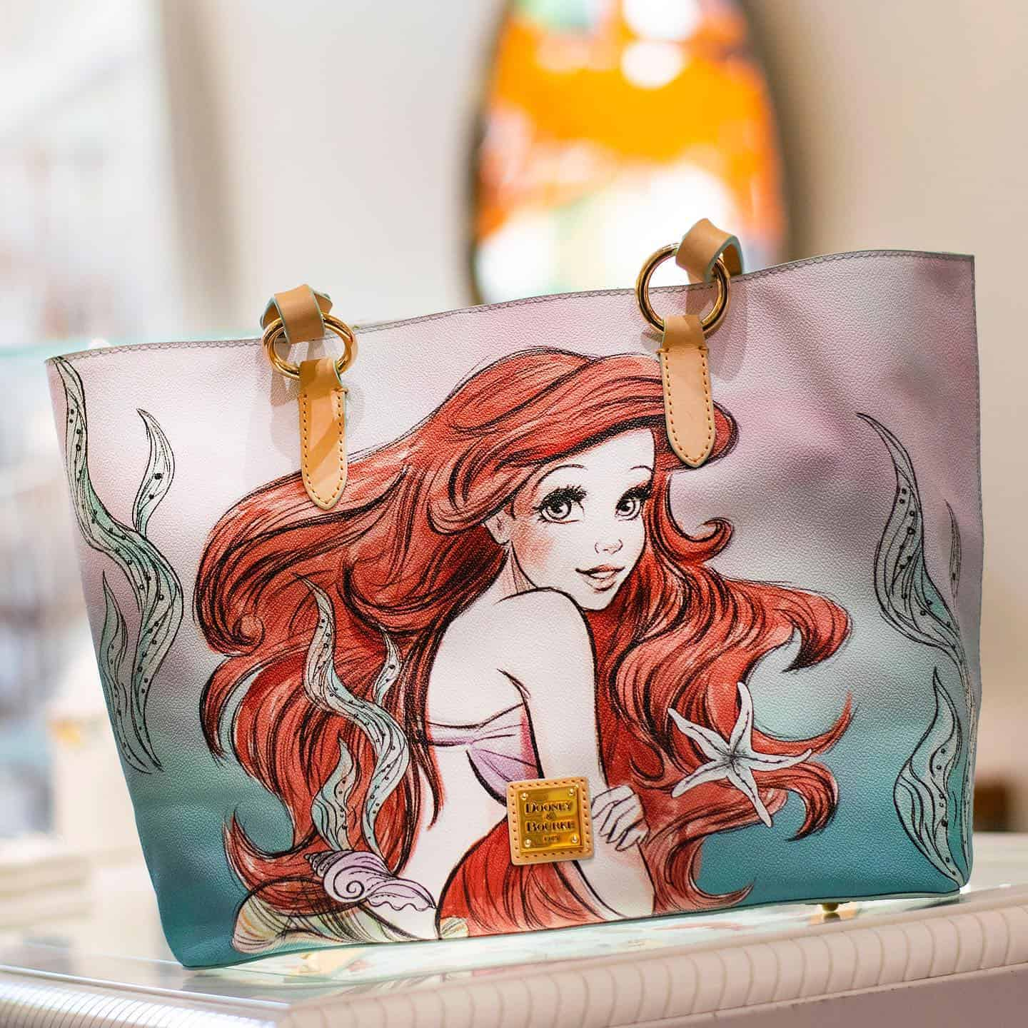 Little Mermaid Ariel Tote by Dooney Bourke