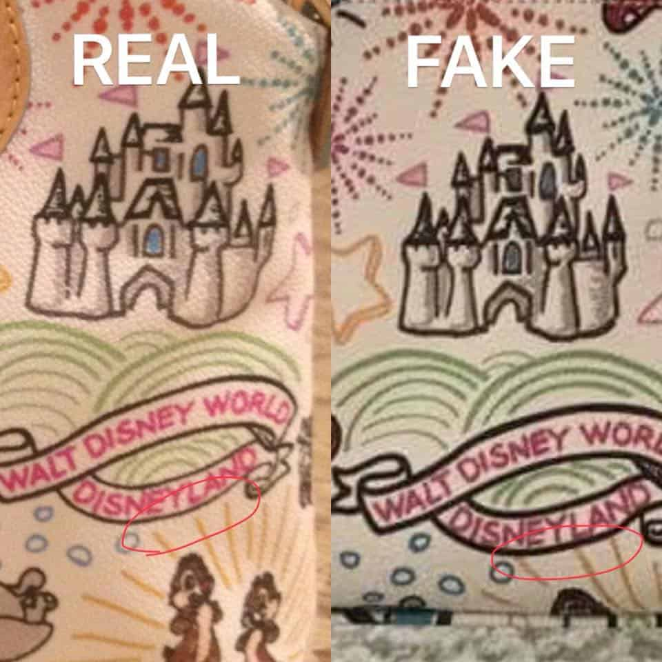 Real vs. Fake White Sketch Chip and Dale Differences