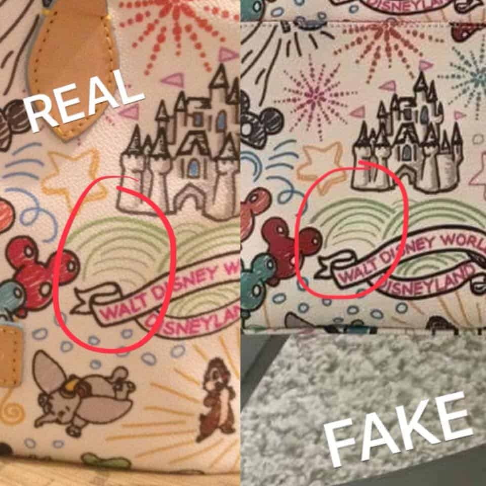 Real vs. Fake White Sketch Banner Differences