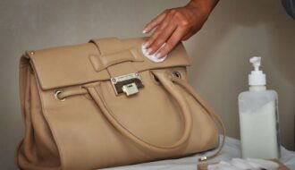 Cleaning a Handbag