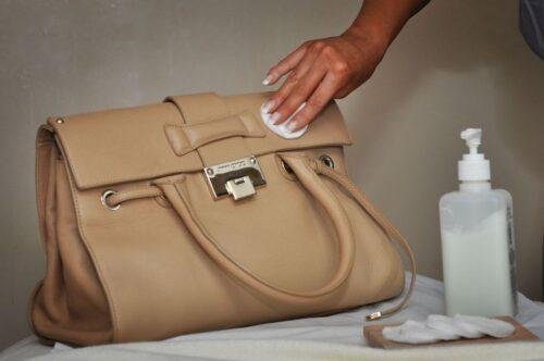 Cleaning a Handbag