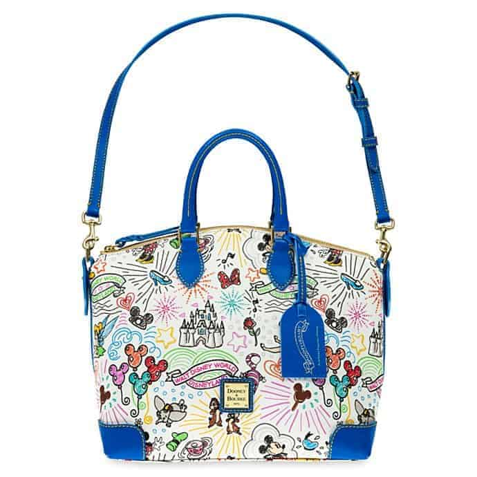 Disney Sketch 10th Anniversary Satchel (strap)