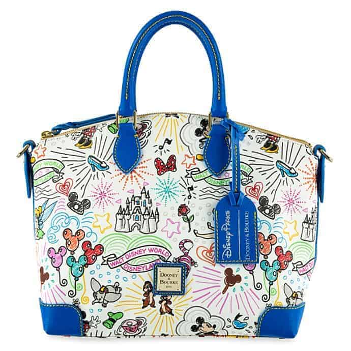 Disney Sketch 10th Anniversary Satchel