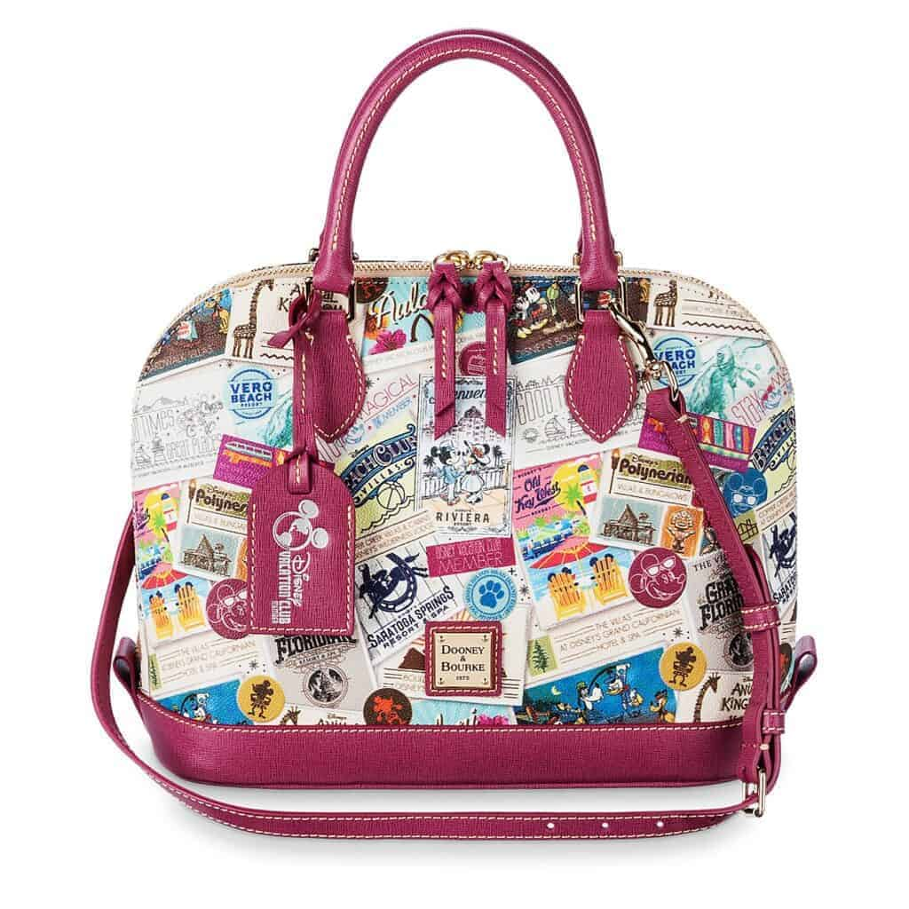 Disney Vacation Club Zip Satchel by Dooney & Bourke