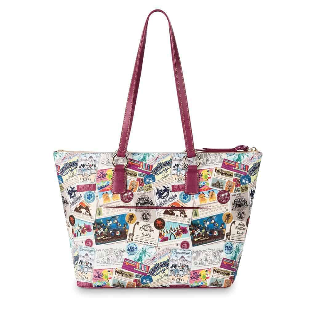 Disney Vacation Club Zip Tote (back) by Dooney & Bourke