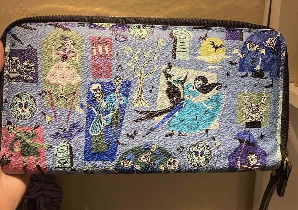 Counterfeit Haunted Mansion 2020 Wallet
