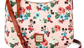 Mickey and Minnie Mouse Crossbody Bag by Dooney & Bourke