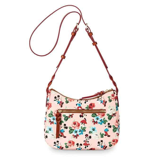 Mickey and Minnie Mouse Crossbody Bag (back) by Dooney & Bourke