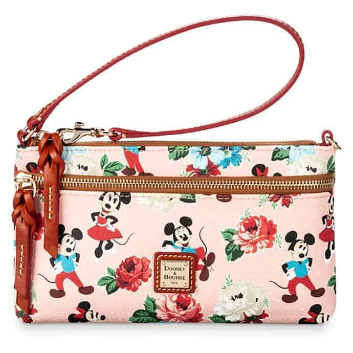 Mickey and Minnie Mouse Pouch by Dooney & Bourke