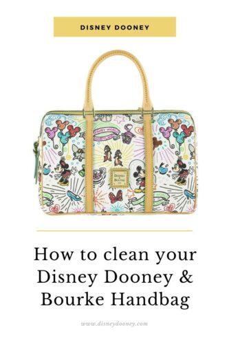 Pin me - How to Clean Your Disney Dooney & Bourke Handbag