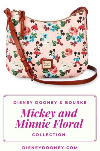 Pin me - Disney Dooney and Bourke Mickey and Minnie Floral Collection