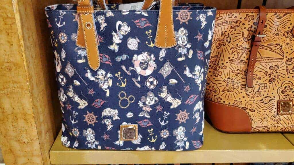 Disney Cruise Line Navy Mickey and Friends 2018 Tote