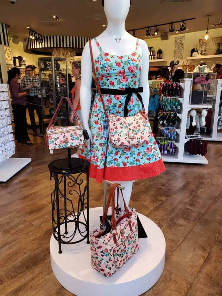 Mickey & Minnie Floral Collection at The Dress Shop in Downtown Disney