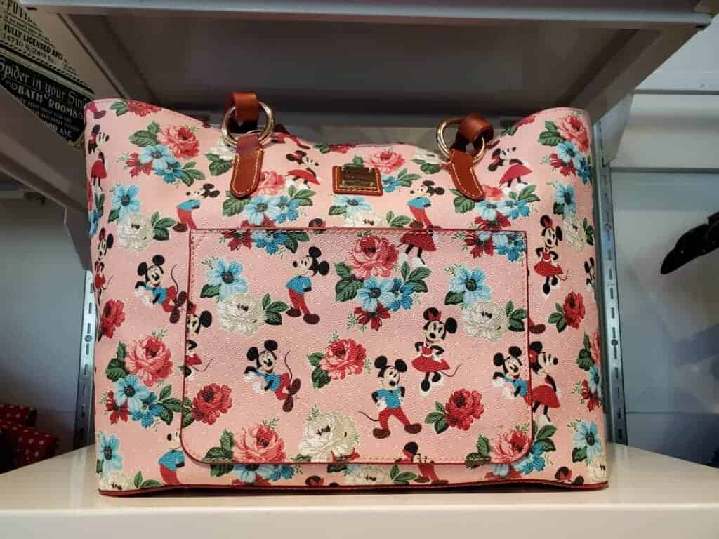 Mickey & Minnie Floral Tote at The Dress Shop in Downtown Disney