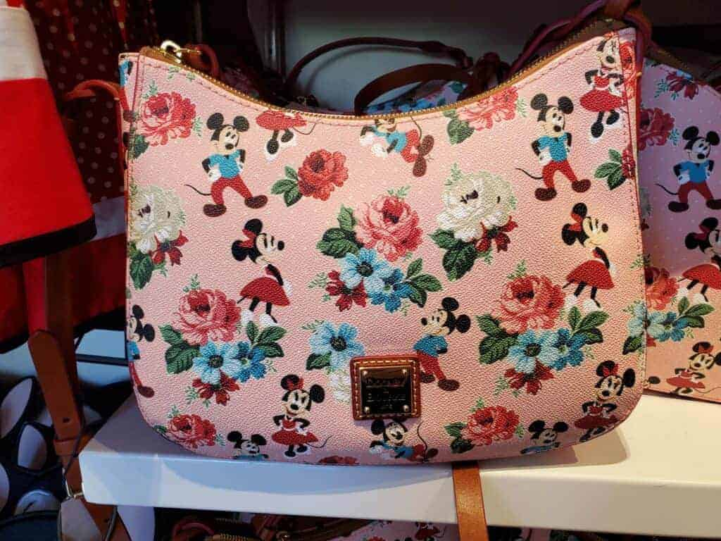 Mickey & Minnie Floral Crossbody at The Dress Shop in Downtown Disney