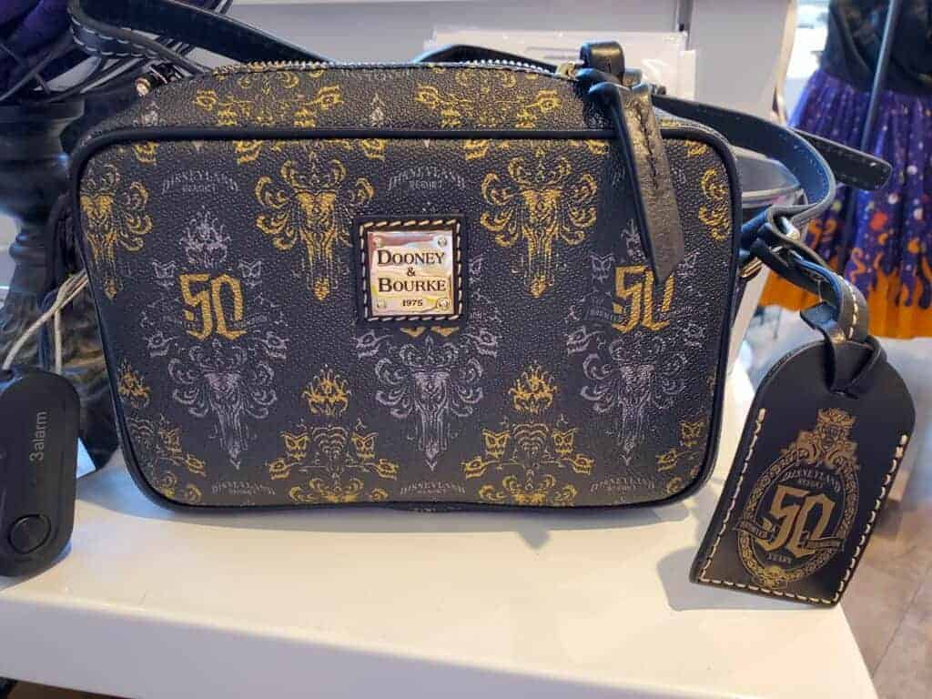 Haunted Mansion 50th Anniversary Crossbody at The Dress Shop in Downtown Disney