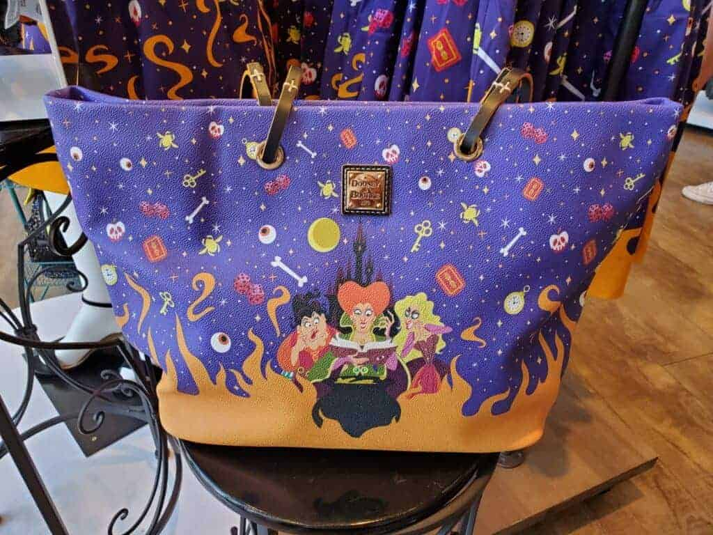 Hocus Pocus Tote at The Dress Shop in Downtown Disney