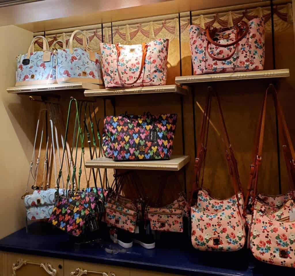 Disney Dooney & Bourke Bags at Disney Clothiers in Disneyland