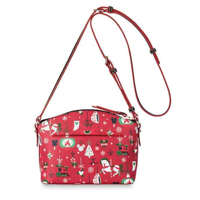 Disney Parks Holiday 2019 Crossbody Bag (back and strap) by Dooney & Bourke