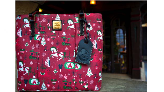 Disney Parks Holiday 2019 Annual Passholder Tote by Dooney & Bourke