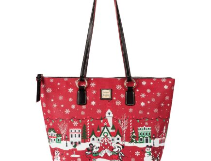 Mickey Mouse and Friends Holiday 2019 Tote by Dooney & Bourke