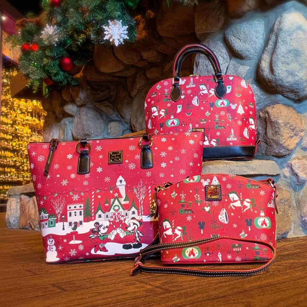 Disney Christmas 2019 Dooney and Bourke Collection