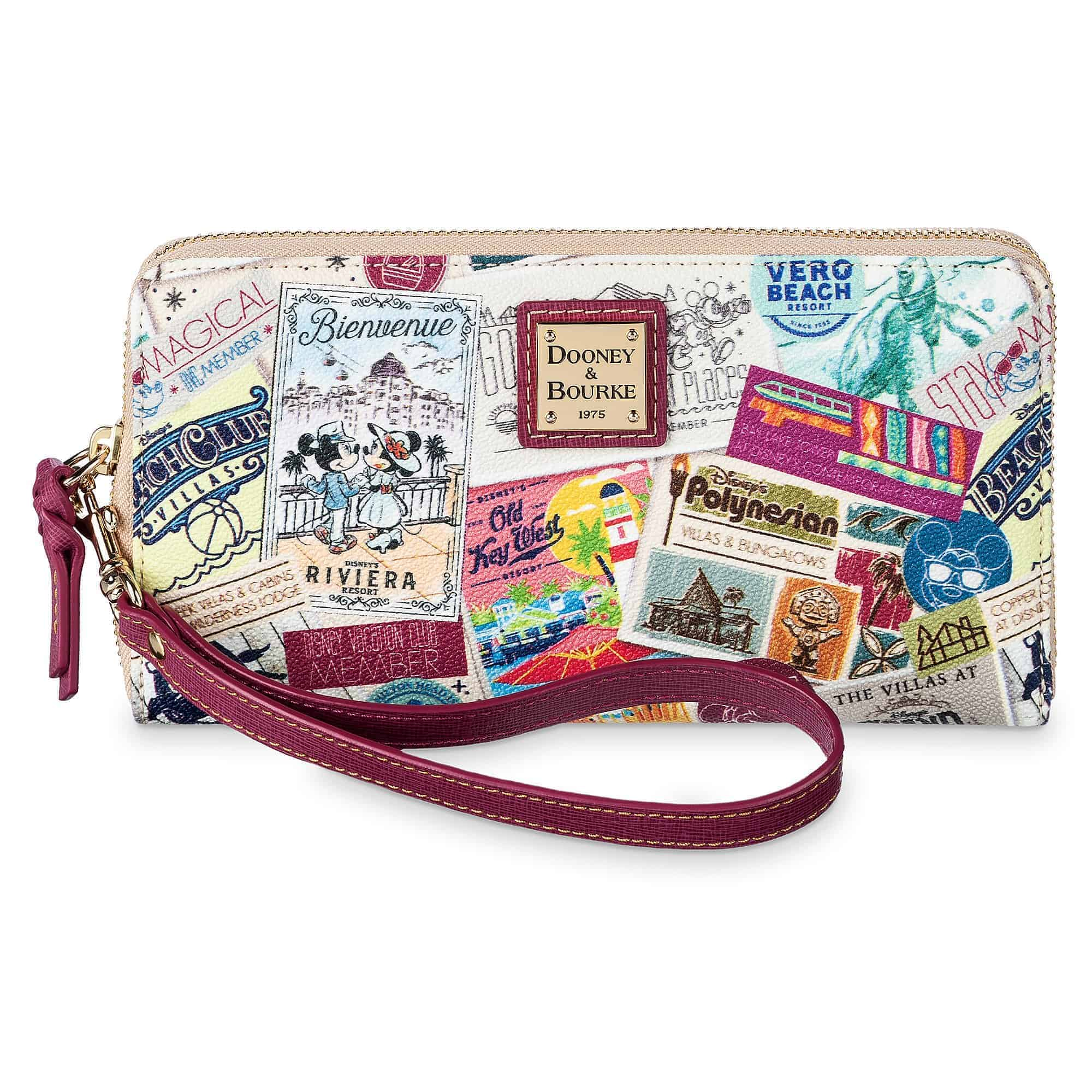 Disney Vacation Club Zip Wallet