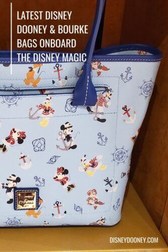 Pin me - The Latest Disney Dooney and Bourke Bags On Board the Disney Magic