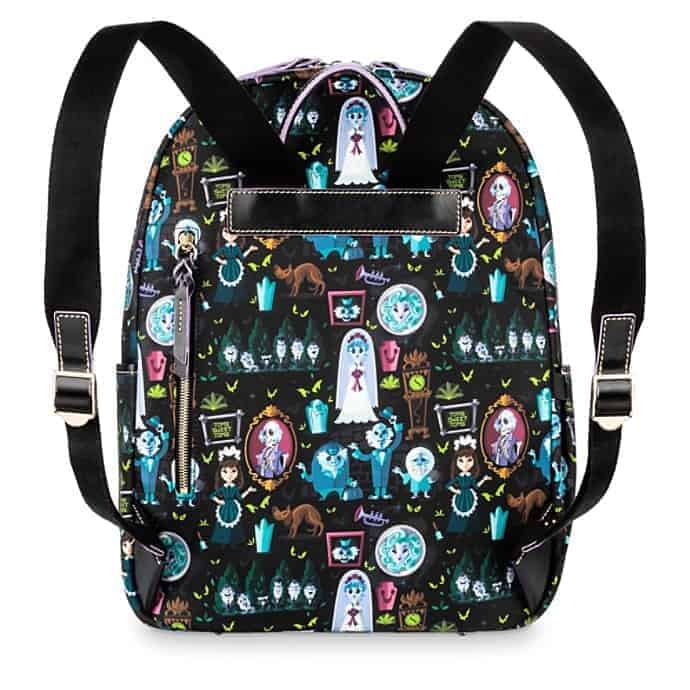 Haunted Mansion Backpack (back) by Dooney and Bourke
