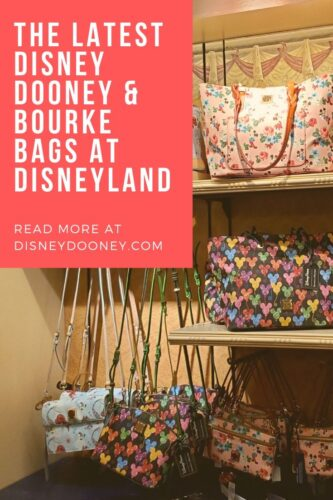 Pin me - The Latest Disney Dooney & Bourke Bags at Disneyland