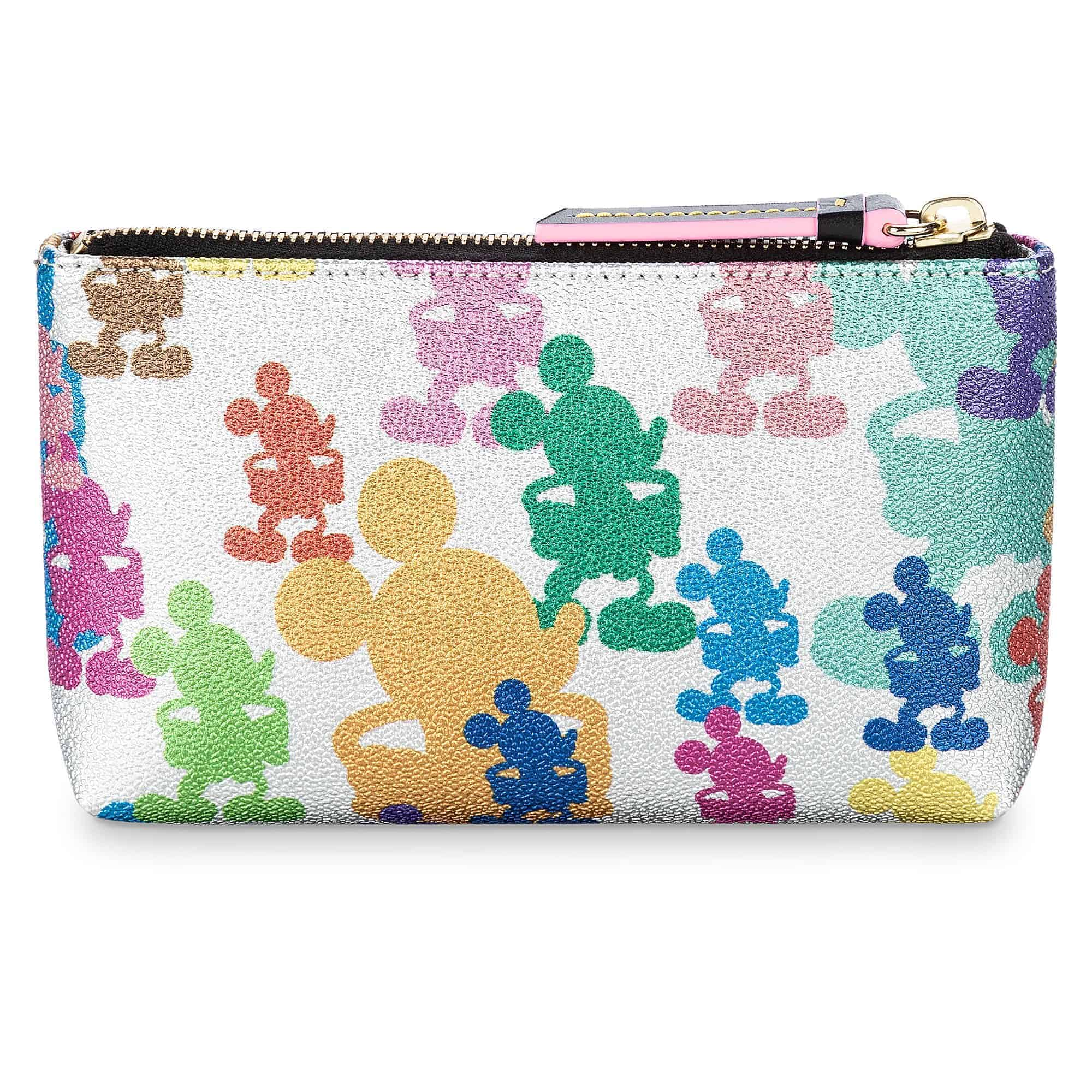 Mickey Mouse Silver Cosmetic Bag(bag) by Dooney & Bourke – 10th Anniversary