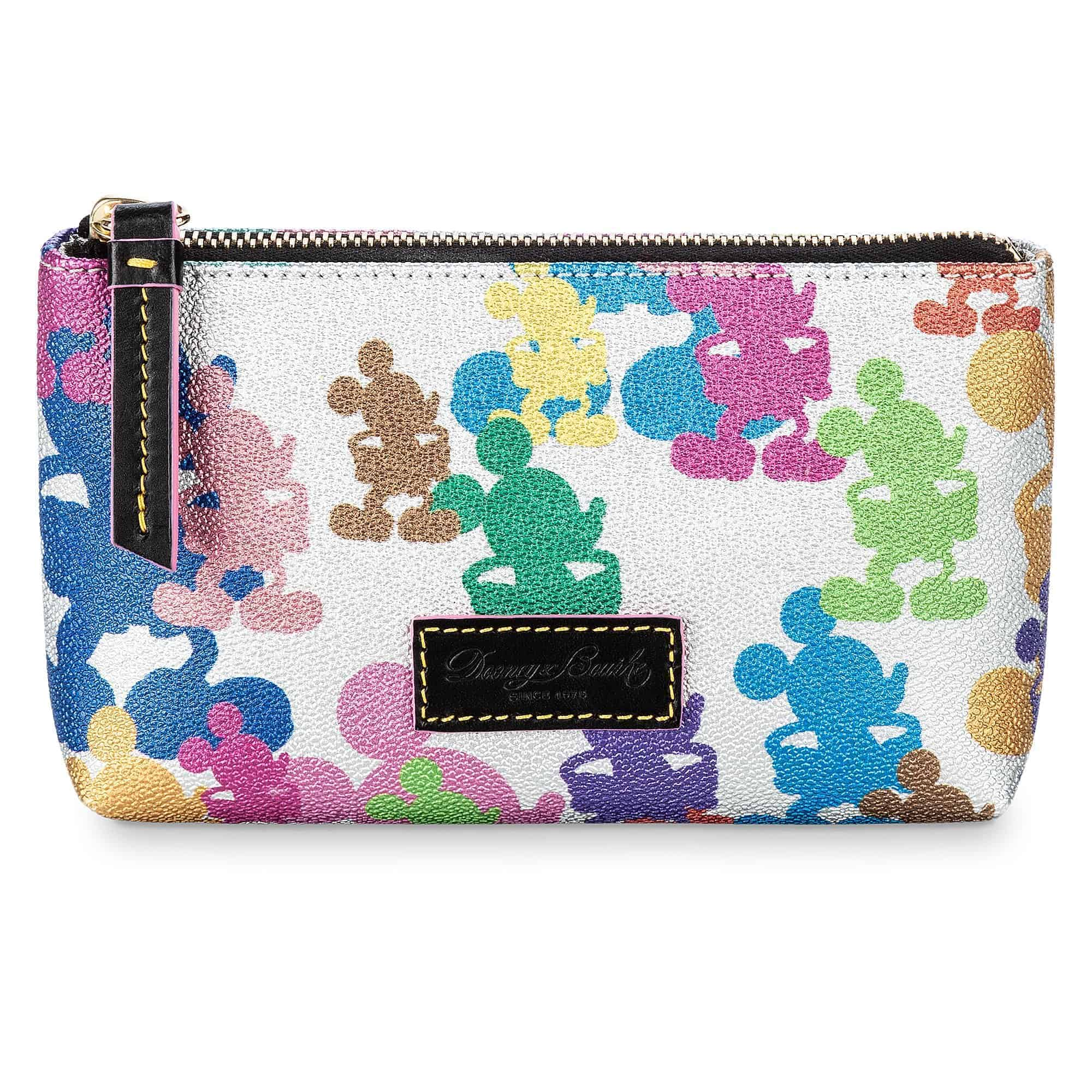 Mickey Mouse Silver Cosmetic Bag by Dooney & Bourke – 10th Anniversary