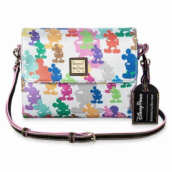 Mickey Mouse Silver Crossbody Bag by Dooney & Bourke – 10th Anniversary