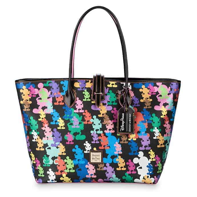 Mickey Mouse Silhouettes 10th Anniversary ToteMickey Mouse Tote by Dooney & Bourke – 10th Anniversary