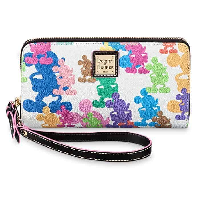 Mickey Mouse Silver Wallet by Dooney & Bourke – 10th Anniversary