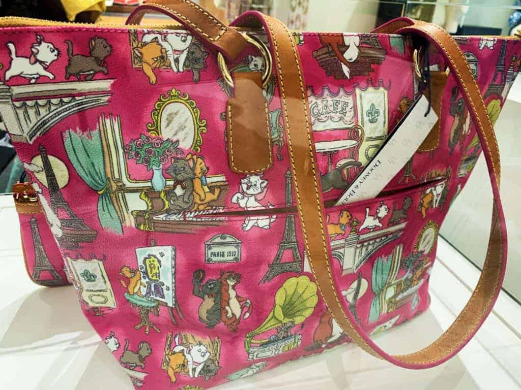 Aristocats Tote (back) by Dooney & Bourke