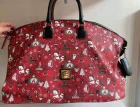 Christmas Holiday 2019 Weekender Duffel Bag by Disney Dooney Bourke