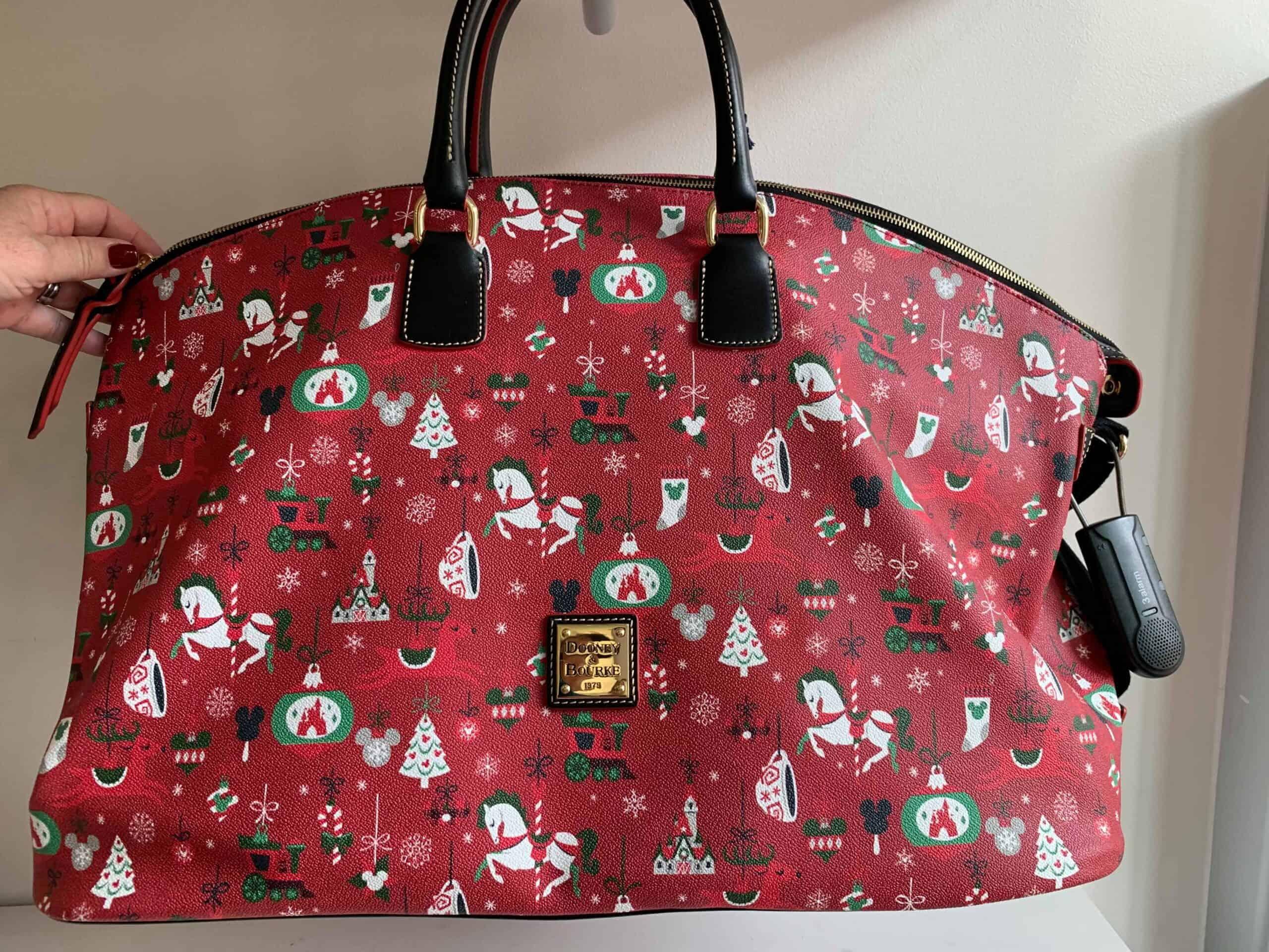 Christmas Holiday 2019 Weekender Duffel Bag by Disney Dooney Bourke