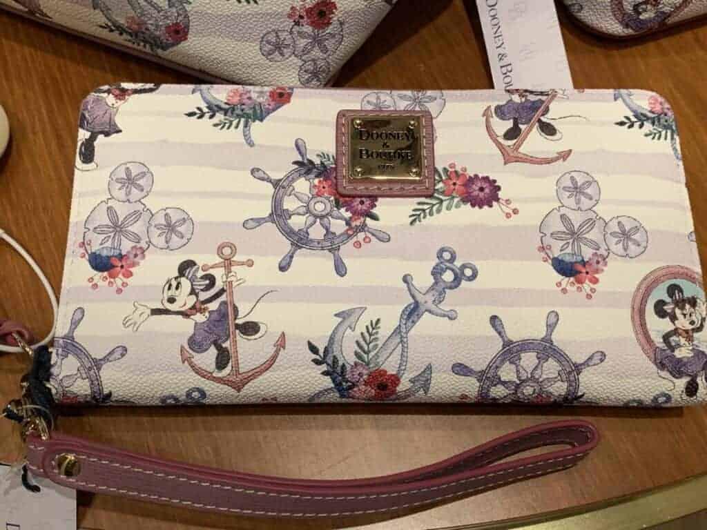 Disney Cruise Line Dooney & Bourke Minnie Wallet
