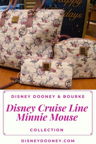Pin me - Disney Dooney and Bourke Disney Cruise Line Minnie Mouse Collection