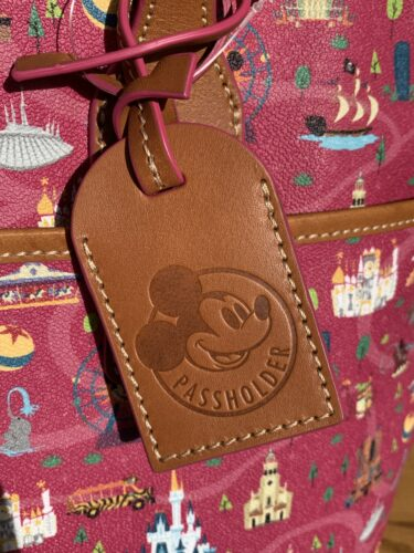 Disney Parks Life Annual Passholder Tote Hangtag by Dooney Bourke
