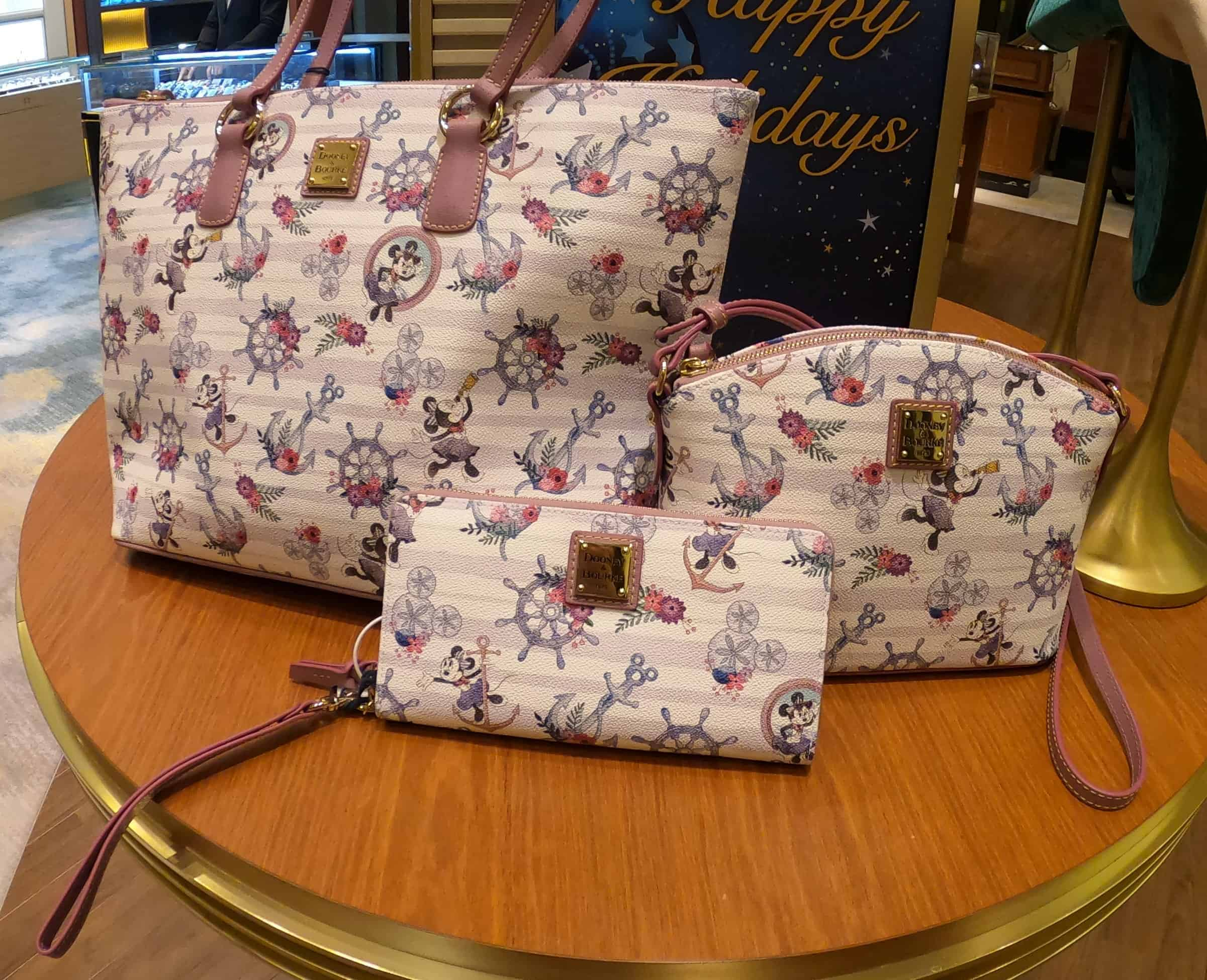 Disney Cruise Line Dooney & Bourke Minnie Collection