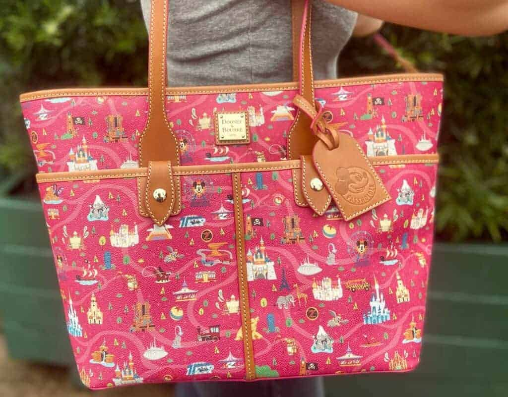 Disney Parks Life Annual Passholder Tote by Dooney Bourke
