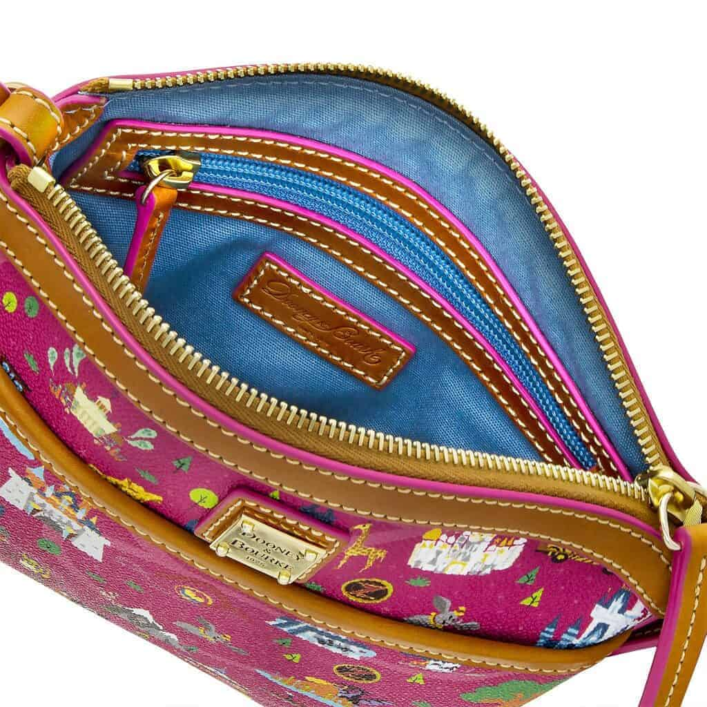 Disney Park Life Crossbody (open) by Dooney & Bourke