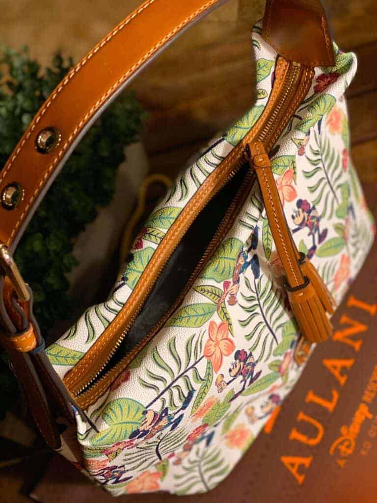 Aulani Paradise Vibes Paige Sac Hobo (top) by Dooney & Bourke