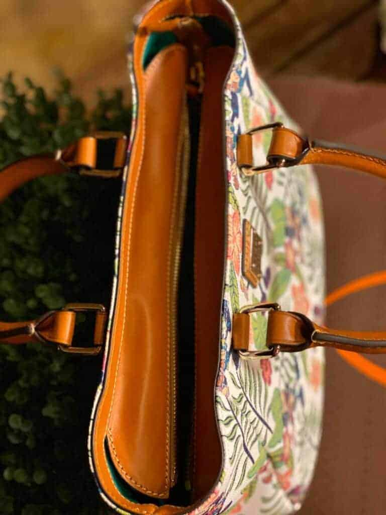 Aulani Paradise Vibes Mini Shopper Tote (top) by Dooney & Bourke