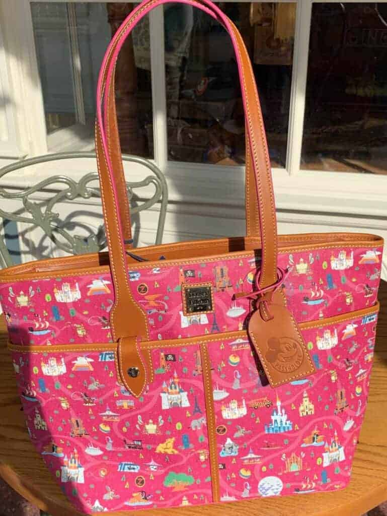 Disney Parks Life Annual Passholder Tote by Dooney & Bourke