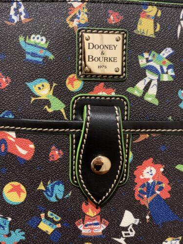 Pixar 2020 Dooney & Bourke Tote (close-up)